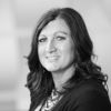 black and white headshot of Lori Van Hulzen, Leadership Team, Sales at Intereum