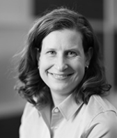 black and white headshot of Amy DeKanick, Leadership Team, Design at Intereum