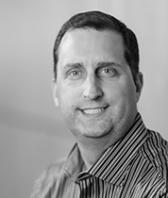 black and white headshot of Jeff Erickson, CFO at Intereum
