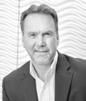 black and white headshot of John Ekelund, Leadership Team, Architectural Products at Intereum